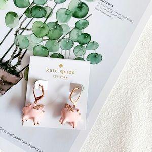 Kate Spade Imagination Pig Earrings